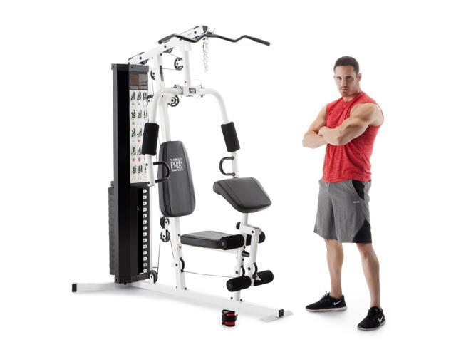 Marcy dual functioning upper lower body fitness workout
