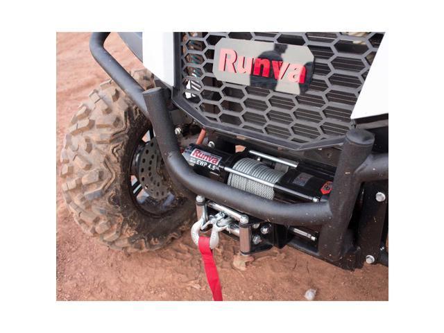 Runva 4500 Lbs Electric 12V ATV UTV Power Tow Winch Master Recovery Kit -  Newegg com