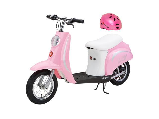 Razor Pocket Mod Bella 24v Electric Girl Scooter And Pink
