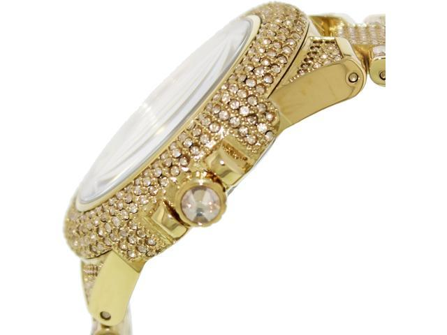 40b694d0d57b Michael Kors Camille Swarovski Crystal Encrusted Gold Ion-plated Watch  MK5720