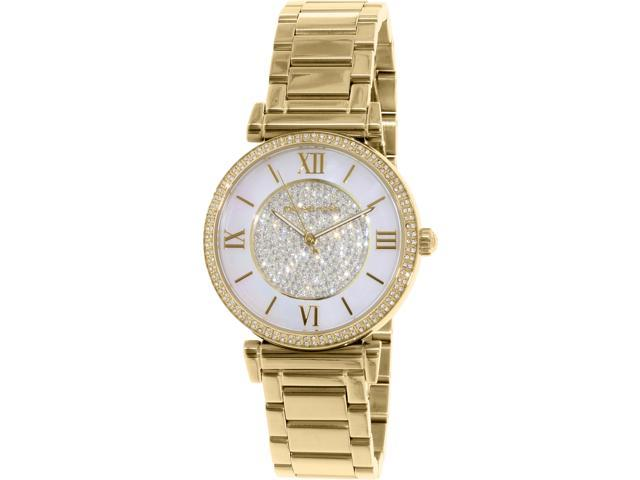 fd5a13a17bf8 Michael Kors Catlin Gold-Tone Ladies Watch MK3332 - Newegg.com