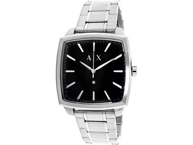 792620b62ac6 Armani Exchange Men s Diamond AX2360 Silver Stainless-Steel Quartz Fashion  Watch