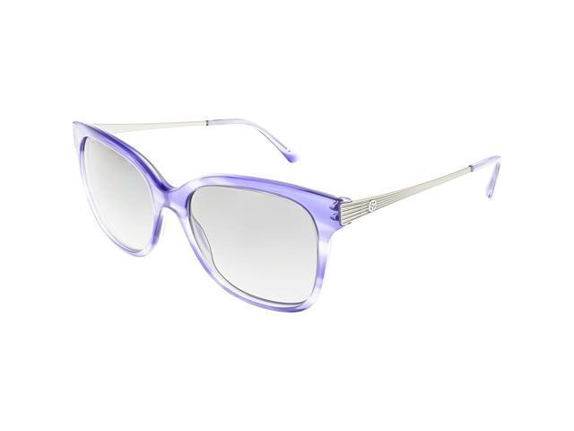 c87c620fb416 Giorgio Armani Women s Polarized AR8074-548711-54 Blue Square Sunglasses