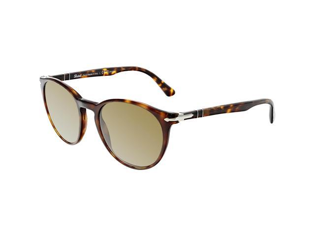 05f6c3215c9 Persol Men s PO3152S-901557-52 Brown Oval Sunglasses - Newegg ...