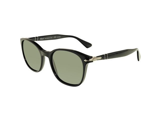 76f90c4b773 Persol Men s Polarized PO3150S-95 58-54 Black Oval Sunglasses ...