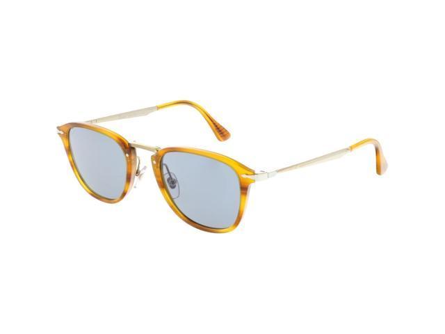 6bb2f5e889 Persol Men s Mirrored Calligrapher PO3165S-960 56-50 Brown Clubmaster  Sunglasses