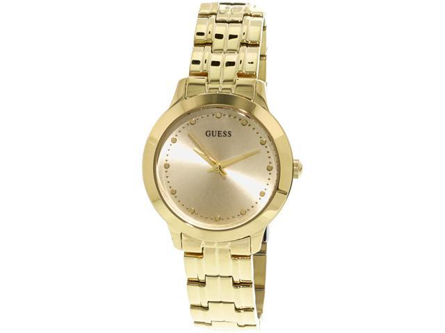 4b90b0fb118b Guess Women s Iconic U0989L2 Gold Stainless-Steel Japanese Quartz Fashion  Watch