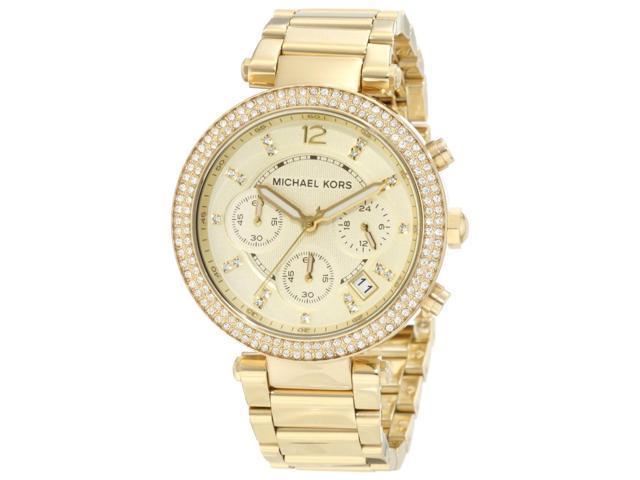 Michael Kors Crystal Chronograph Ladies Watch MK5354