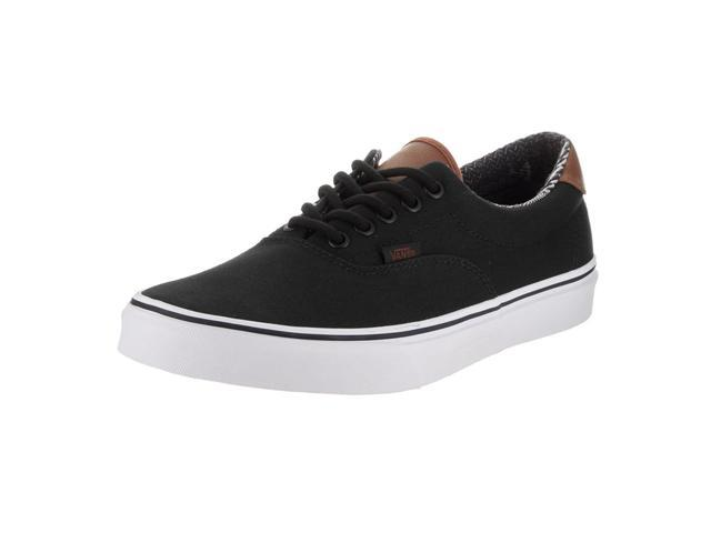 390a12ef67a Vans VA38FSMMK-110D Men s C L Era 59 Black   Material Mix Lace-Up Skate