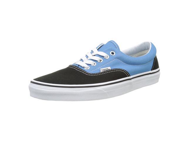 850a31b75f19ab Vans VA38FRMV6-070D Unisex Era Black   Cendre Blue Canvas Lace-Up Skate Shoe