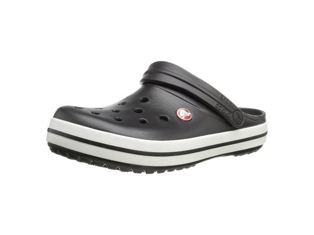 c1a37d55afde7b Crocs 11016-001-M07 Unisex Crocband Black Croslite Clog