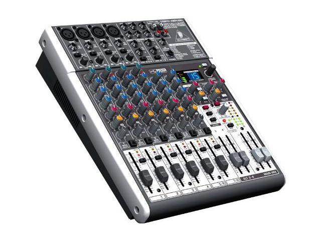behringer x1204usb 12 ch usb mixer interface w fx pa or recording mixer with computer io. Black Bedroom Furniture Sets. Home Design Ideas