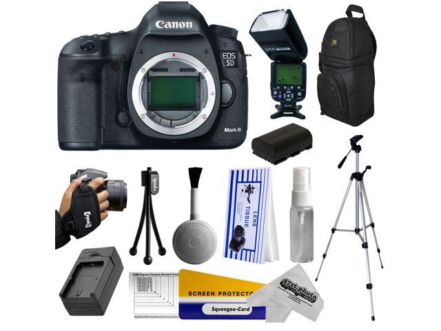 Canon 5D Mark III 22.3MP Full-Frame CMOS Sensor Digital SLR ...