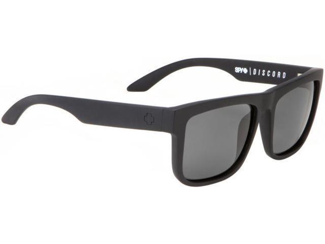 35365187c7e Spy Optic Discord Sunglasses - Matte Black Frame and Grey Polarized Lens  6730363