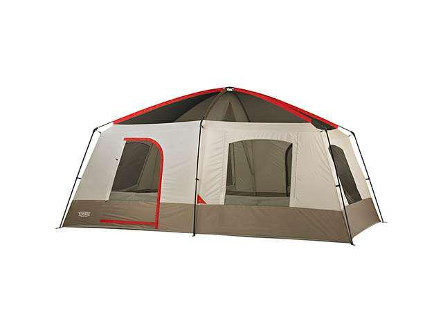 Super Appealing 60 Square Foot Mobile Cabin Camper: Wenzel Timber Ridge 16 X 10 Foot Cabin Tent (10 Person
