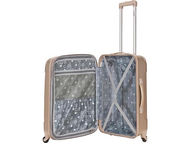 45f33704a Rockland Luggage Sonic 3 Piece Hardside Spinner Set - Newegg.com