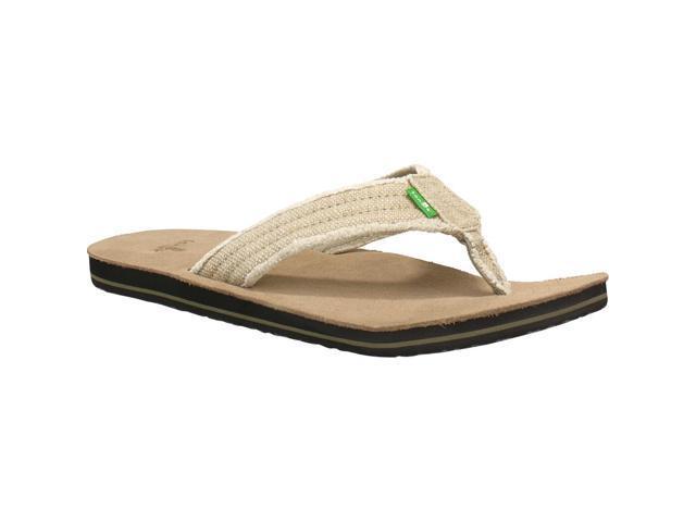 3898991e4ad14d Sanuk Mens Fraid Not Sandal Flip Flops Slipper Footwear