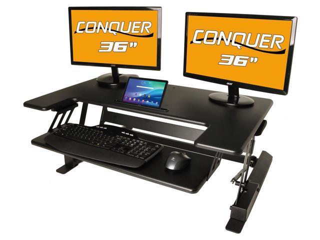 desktop tabletop standing desk adjustable height sit to stand ergonomic workstation - Adjustable Height Computer Desk