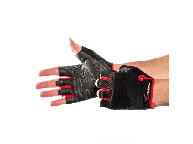 Bellwether Supreme Women/'s Road Cycling Gloves Ferrari Red Medium
