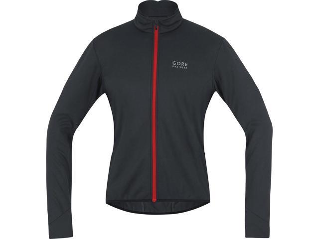 Gore Bike Wear Men s Power 2.0 Windstopper Soft Shell Cycling Jacket -  JWPOSO (black  356594cf8