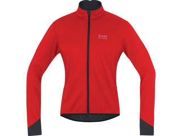 Gore Bike Wear Men s Power 2.0 Windstopper Soft Shell Cycling Jacket -  JWPOSO (red  af8ff11d1