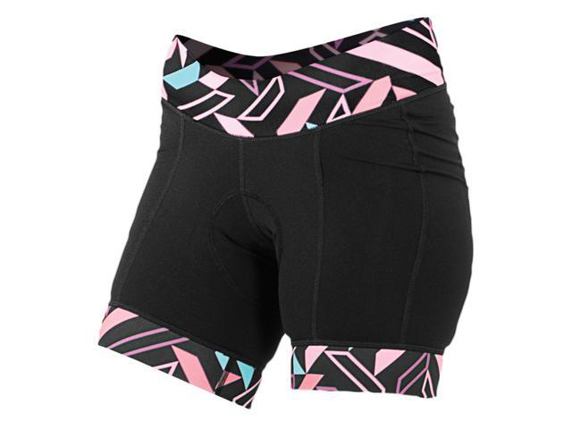 Shebeest 2017 Women s Triple S Ultimo Compilation Cycling Shorts - 3047-CP  (Black - fc69d951a