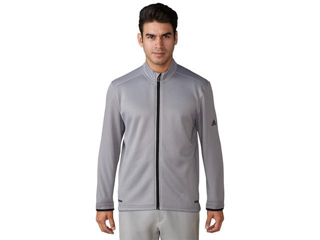 e3b12a864 Adidas Golf 2017 Men's ClimaHeat Hybrid Full Zip Jacket - Mid Grey - BC6774  (Mid