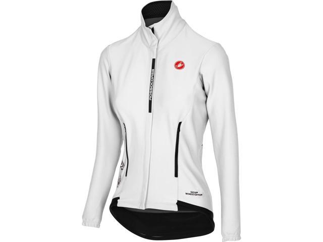 Castelli 2018 Women s Perfetto Long Sleeve Cycling Jacket - B16542 (White -  M) bd7458c98