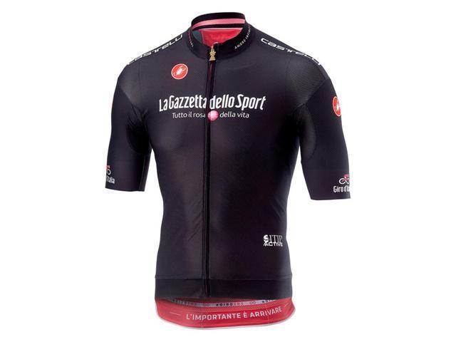 Castelli 2018 Men s Giro d Italia Race Full Zip Short Sleeve Cycling Jersey  - V9510101 4fcefddd0