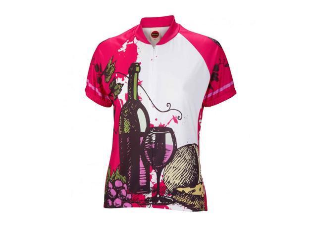 World Jerseys Women s Wine Time Cycling Jersey - WJWTJ (Wine Time - S) a325621f8