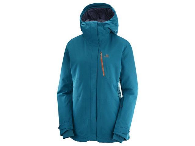 Deep Lagoon QST Snow L40288900 L Jacket Women's Salomon pXqIwn