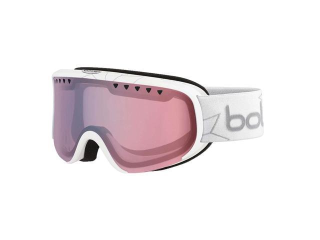 Bolle Women s Scarlett Performance Ski Goggle - Shiny White Edelweiss  Frame NXT Modulator Light Control Lens - 21662 e066c9d98b3
