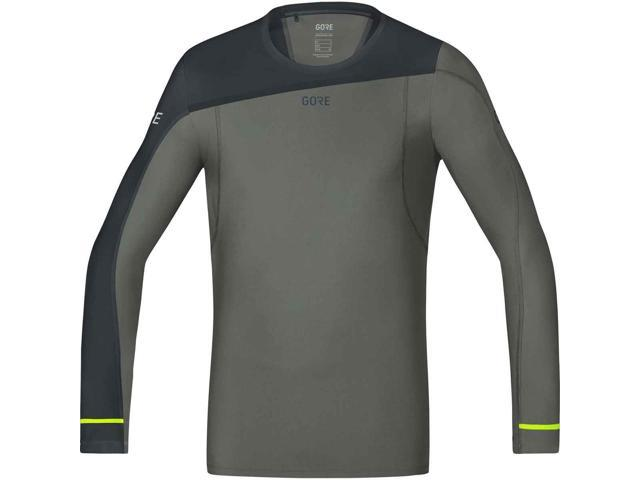 Gore Running R3 Mens T-shirt Sports Top Black All Sizes