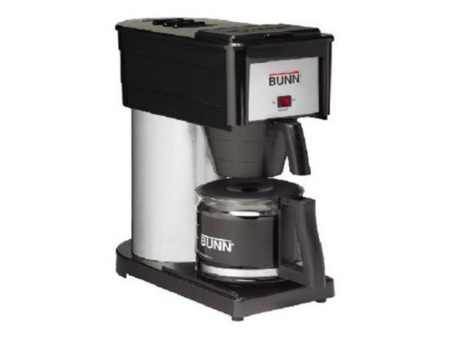 BUNN GRB Velocity Brew 10-Cup Home Coffee Brewer Black