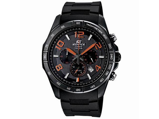 aa758e4fe108 Casio Edifice reloj para hombre de acero inoxidable EFR516PB-1A4-Cronógrafo  Dial negro - Newegg.com