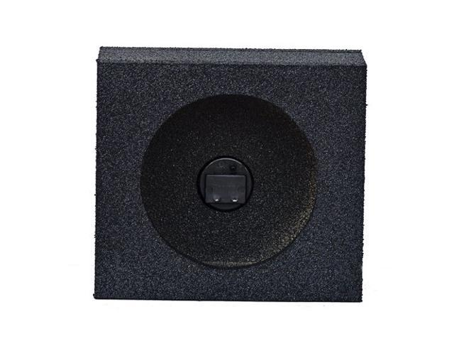 Q Power Overboxed Pair Single 65 Carpeted Unloaded Speaker Boxes QBTW65
