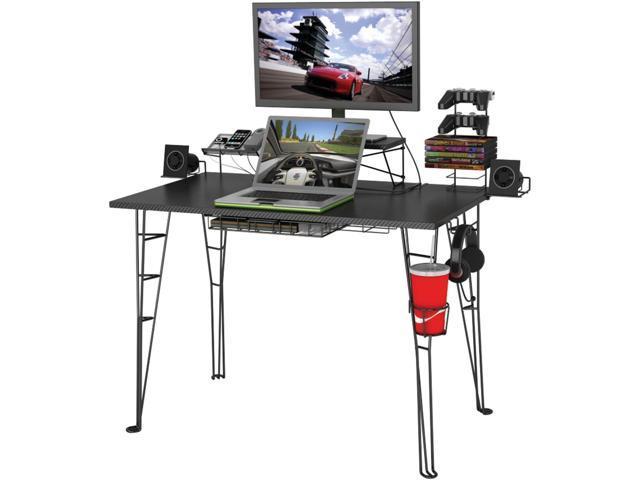 Atlantic 33935701 Gaming Desk Newegg Com