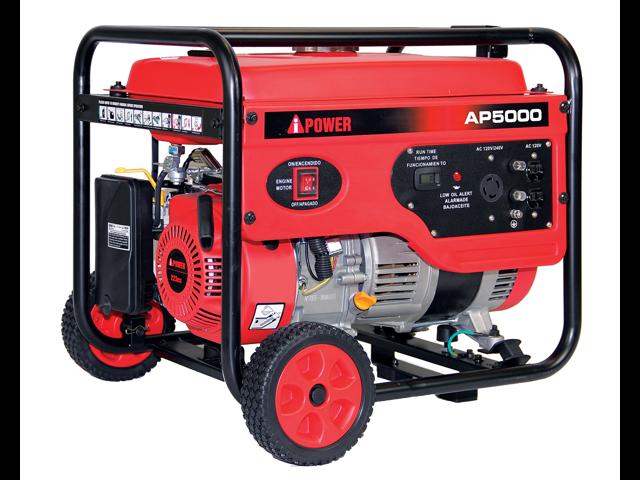 A-iPower AP5000 5000 watt Gasoline Powered Manual Start