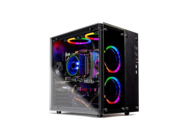 SkyTech Legacy II - Gaming Computer PC Desktop – Ryzen 7 2700 8-Core 3.2 GHz, NVIDIA GeForce RTX 2060 6GB, 1TB SSD, 16GB DDR4, AC WiFi, Windows 10 Home 64-bit