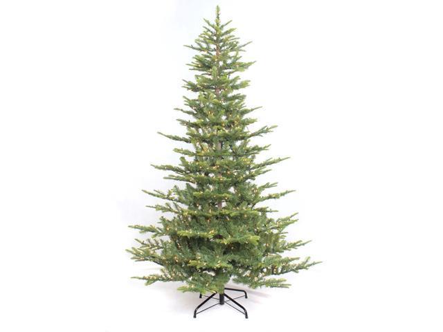 4.5' Pre-Lit Slim Aspen Green Fir Artificial Christmas