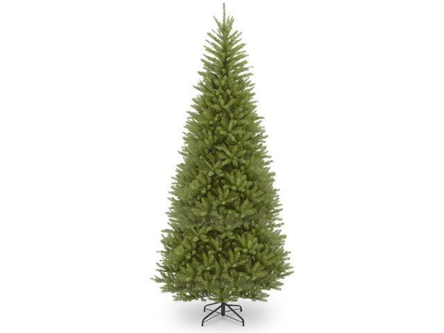 14' Pre-lit Dunhill Fir Slim Artificial Christmas Tree