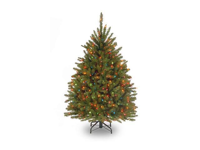 4.5' Pre-Lit Dunhill Fir Artificial Christmas Tree