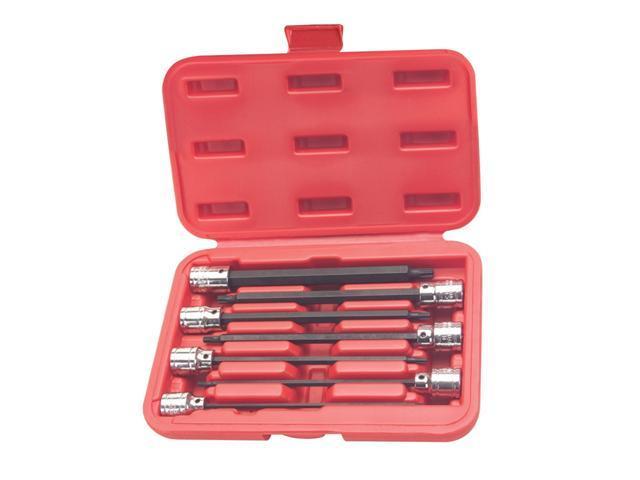 7 Piece ATD Tools 13774 X-Long Star Bit Socket Set