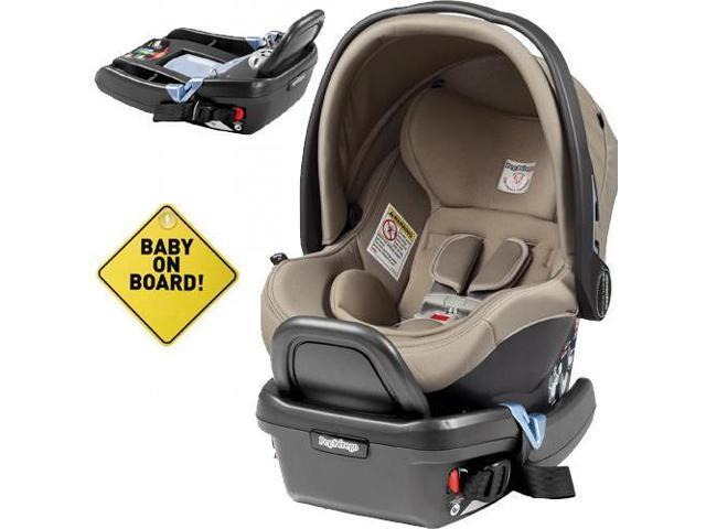 Peg Perego Primo Viaggio 4 35 Car Seat W Extra Base And Baby On