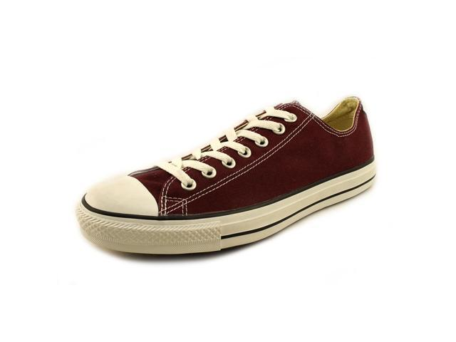 Converse CT Ox Mens Size 10 Burgundy Canvas Sneakers Shoes UK 10