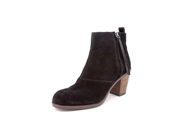 91feffd795a5 DV By Dolce Vita Joust Womens Size 8 Black Suede Fashion Ankle Boots New  Display