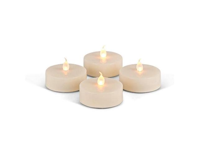 Gerson 43837 19 Bisque Battery Operated Jumbo Led Tealights