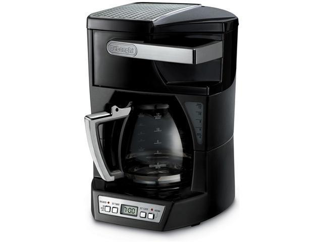 Delonghi Dcf212t Black 12 Cup Coffee Maker With Front Access
