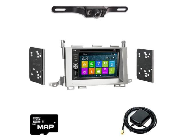 Otto Navi In Dash Navigation System DVD GPS Navigation Multimedia Radio and  Dash Kit for Toyota Venza 2009-2015 with Back up camera and extra -