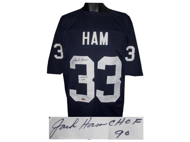 wholesale dealer 1e28a 31f78 Jack Ham signed Navy TB Custom Stitched Football Jersey CHOF 90 XL -  Newegg.com